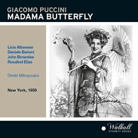Madama Butterfly   (Mitropoulos;  Albanese, Barioni, Brownlee, Elias)  (2-Walhall 0312)