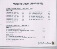 Marcelle Meyer, Vol. I     (St Laurent Studio YSL 78-062)