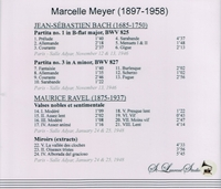 Marcelle Meyer, Vol. III     (St Laurent Studio YSL 78-087)