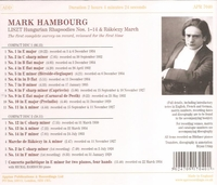Mark Hambourg        (2-Appian APR 7040)