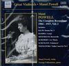 Maud Powell, Vol. II         (Naxos 8.110962)