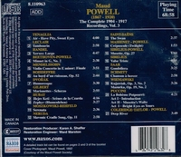 Maud Powell, Vol. III      (Naxos 8.110963)