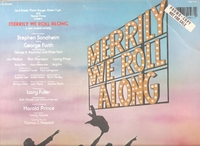 Merrily We Roll Along     (RCA CBL1-4197)   Original Broadway cast LP