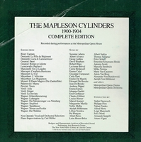 The Mapleson Cylinders, 1900 - 1904                     (6-Rodgers & Hammerstein R & H 100)