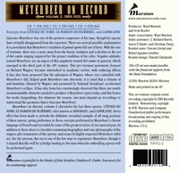 Meyerbeer on Record, Vol. II        (3-Marston 53012)