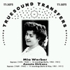 Mia Werber  &  Aennie Dirkens          (Truesound Transfers 3075)