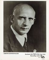 Mitropoulos, Dimitri  -  Photo, Programs, Carnegie Hall Program