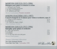 American Rarities - Morton Gould, Julius Schulman, Thomas Scherman    (St Laurent Studio YSL T-320)