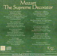 Mozart, the Supreme Decorator    (Opera Rara ORR 232)