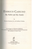 My Father and My Family    (Farkas & Caruso)     0931340241