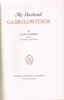 My Husband Gabrilowitsch      (Clara Clemens)