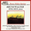 Myra Hess;  Bruno Walter  - Brahms    (AS Disc 415)