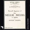Nellie Melba Farewell, London     (Eklipse 4)