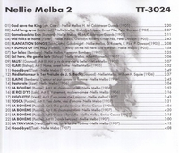 Nellie Melba, Vol. II              (Truesound Transfers 3024)
