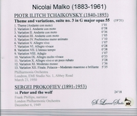 Nikolai Malko, Vol. III     (St Laurent Studio YSL 78-113)