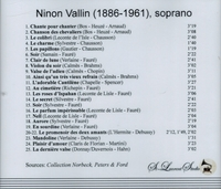 Ninon Vallin, Vol. III       (St Laurent Studio YSL 78-193)