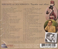 Nora Bayes   & Jack   Norworth    (2-Archeophone 5007)