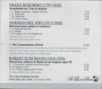 American Rarities - Norman Dello Joio;   Leonard Warren;  Scherman   (St Laurent Studio YSL T-318)