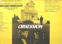 Obsession   (Bernard Herrmann)  (London SPC 21160)   Soundtrack  LP