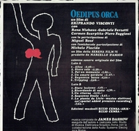 Oedipus Orca (James Dashow (Cinevox MDF 33.107)  Film Soundtrack