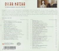 Oscar Natzke, Vol. I         (2-National Library of New Zealand ACD 400)