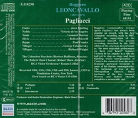 Pagliacci  (Cellini;  Bjorling, de los Angeles, Warren, Merrill)          (Naxos 8.110258)