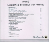 Pathe,  premiers disques, Vol. I   (St Laurent Studio YSL 78-060)