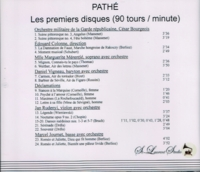 Pathe, premiers disques, Vol. II                  (St Laurent Studio YSL 78-079)