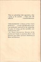 Philharmonic, History of New York Philharmonic (Shanet)  0-385-08861-2