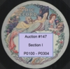Piano 78rpm Records Nos. P0100 - P0304