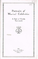 Portraits of Musical Celebrities, Orig. 1915 Edition  (Steinway)