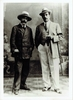 Puccini, Giacomo. 2 full color circa 1950�s postcards of Puccini�s Home �Torre del Lago Puccini�/ 1 unsigned repro BW photo with Illica, his librettist, circa early 20th Century /