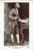 Rameau, Jean-Philippe. 1 full-length portrait sepia postcard (167) A.N-Paris