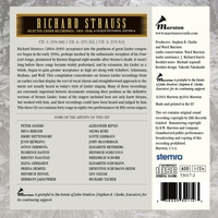 Richard Strauss   -   Sesquicentennial Edition     (3-Marston 53017)