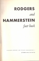 Rodgers and Hammerstein Fact Book  (Wolfe)