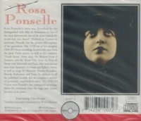 Rosa Ponselle - Victor, 1926-29        (2-Romophone 81007)