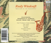 Rudy Wiedoeft - The Kreisler of the Saxophone    (Clarinet Classics 0018)