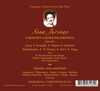 Sena Jurinac      (2-Immortal Performances IPCD 1013)