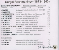 Sergei Rachmaninoff, Vol. VII            (St Laurent Studio YSL 78-240)