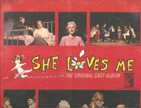 She Loves Me     (2-M-G-M  SE 41180C-2)   Original Broadway cast LPs