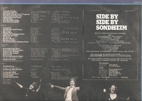 Side by Side Sondheim  (2-RCA CBL2-1851)  Original London cast LPs