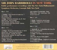 Sir John Barbirolli;  Berl Senofsky, William Lincer, John Corigliano, Varga, Rybb, Forrester, Richard Lewis  (4-WHRA 6033)