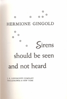 Sirens Should be Seen and Not Heard    (GINGOLD)
