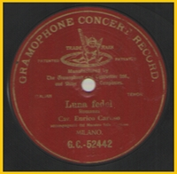 Spanish Vocal 78rpm records