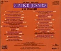 Spike Jones & His City Slickers    (RCA DMC1 0570/SJK)