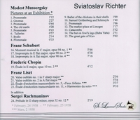 Sviatoslav Richter, Vol. I     (St Laurent Studio YSL 33-015)