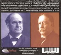 Taft & Bryan Campaign  (Archeophone 1008)