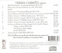 Teresa  Carreno  (Pierian 0022)