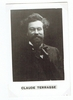 Terrasse, Claude. 1 unsigned photocard 2.75x4.25 / 1 unsigned photocard, Collection F�lix Potin 1.75x3