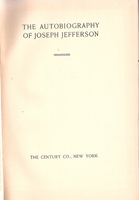 The Autobiography of Joseph Jefferson